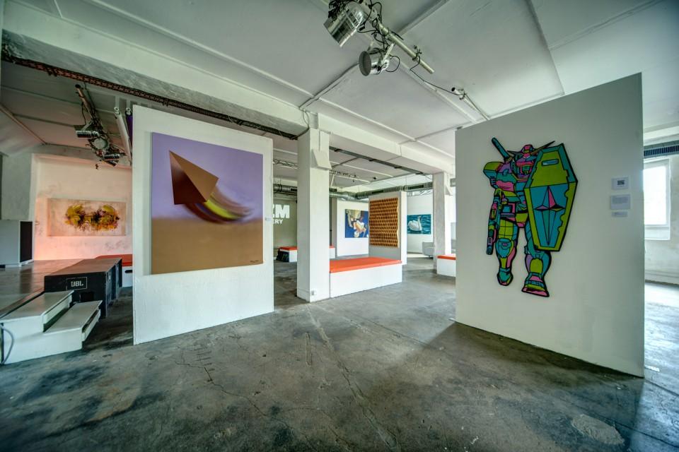 OZM Art Space Gallery UpTheWall © 2014 Lagot - Lady Wave