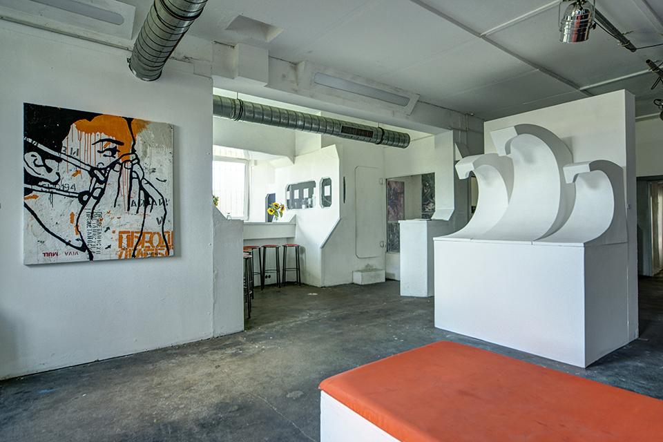 OZM Art Space Gallery UpTheWall © 2014 Simo - Mir